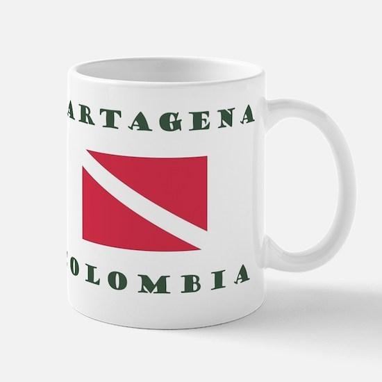 Cartagena Colombia Dive Mugs