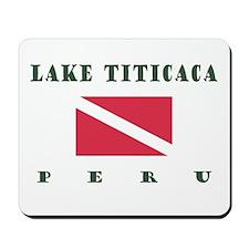 Lake Titicaca Peru Dive Mousepad