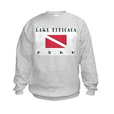Lake Titicaca Peru Dive Sweatshirt
