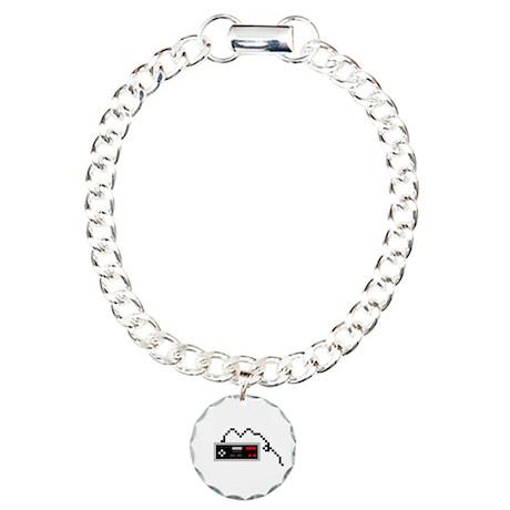 Vintage controller Charm Bracelet, One Charm