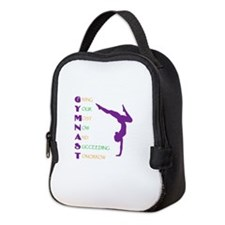 Gymnast Success Neoprene Lunch Bag