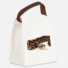 Bitis Gabonica Viper Canvas Lunch Bag