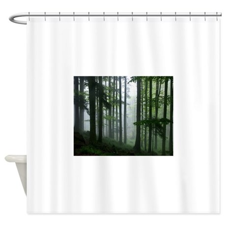 Amazon Rainforest In The Mist Shower Curtain By