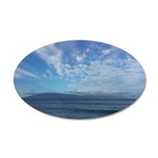 View Of Waves From Maui Wall Decal