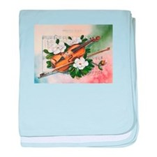Amazing Grace and Music baby blanket