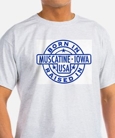 Born In, Raised In (blue) T-Shirt
