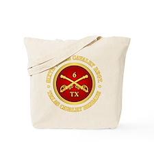 6th Texas Cavalry Tote Bag