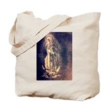 Our lady of Guadalupe drawing Tote Bag