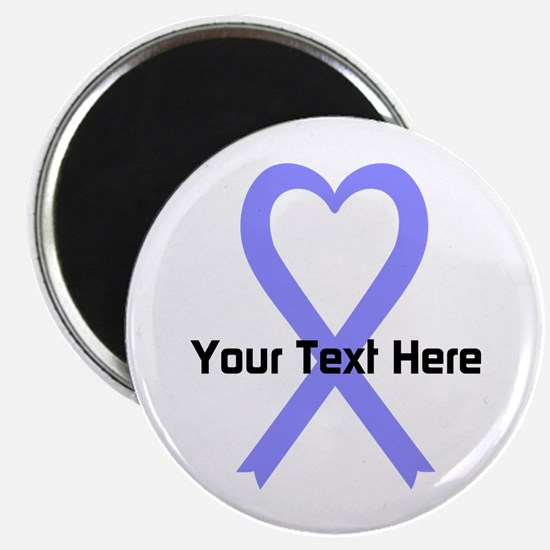 """Personalized Periwinkle Rib 2.25"""" Magnet (10 pack)"""