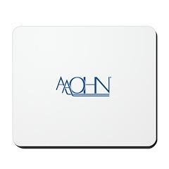Blue Logo Mousepad