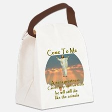 Come to me Canvas Lunch Bag