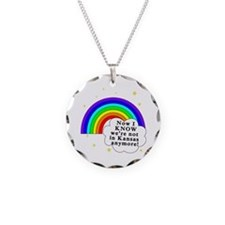 WOZ Not in Kansas Anymore Necklace Circle Charm