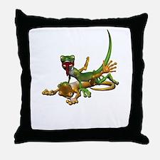 Gecko Sex Throw Pillow