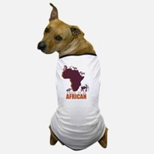 PROUD TO BE AFRICAN Dog T-Shirt