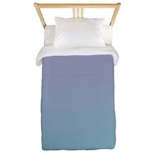 Light Violet And Blue Twin Duvet
