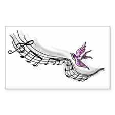 Flying Melody Decal