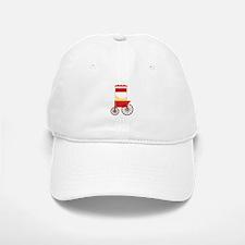 Popcorn Cart Baseball Baseball Baseball Cap