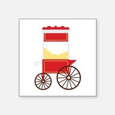 Popcorn Cart Sticker