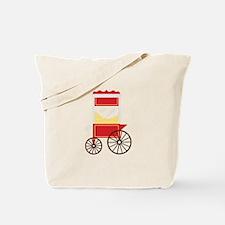 Popcorn Cart Tote Bag