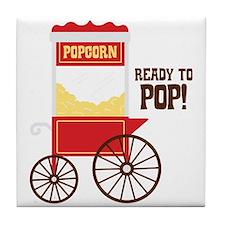 READY TO POP! Tile Coaster