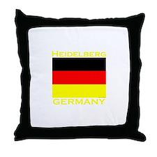 Heidelberg, Germany Throw Pillow