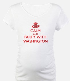 Keep calm and Party with Washington Shirt