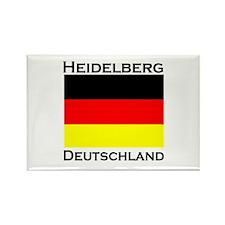 Heidelberg, Deutschland Rectangle Magnet