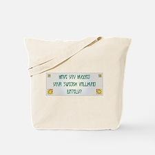 Hugged Vallhund Tote Bag