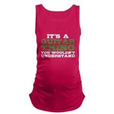 It's a Guitar Thing Maternity Tank Top