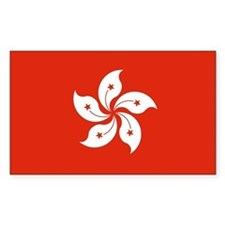 Hong Kong Flag Stickers