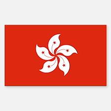 Hong Kong Flag Stickers