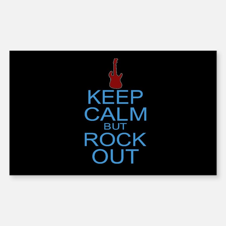Keep Calm Rock Out Decal