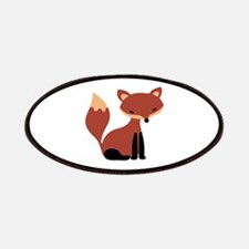 Fox Animal Patches