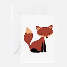 Fox Animal Greeting Cards
