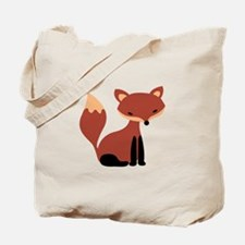 Fox Animal Tote Bag