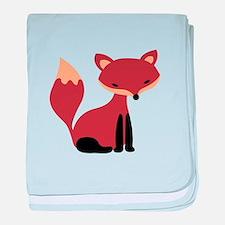 Fox Animal baby blanket