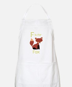 F Is For Fox Apron