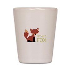 Sly As A Fox Shot Glass