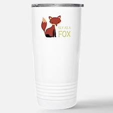 Sly As A Fox Travel Mug