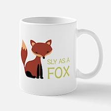 Sly As A Fox Mugs