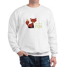 Sly As A Fox Sweatshirt