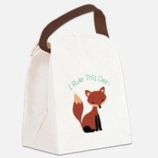 I Rule This Den Canvas Lunch Bag
