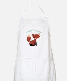 I Rule This Den Apron