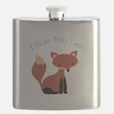 I Rule This Den Flask
