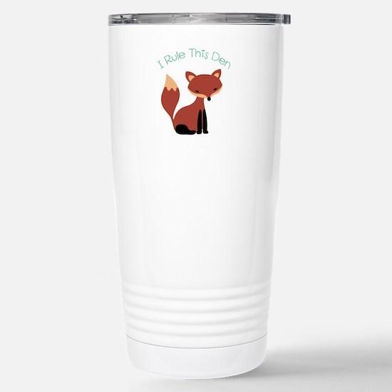 I Rule This Den Travel Mug