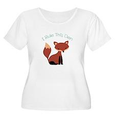 I Rule This Den Plus Size T-Shirt
