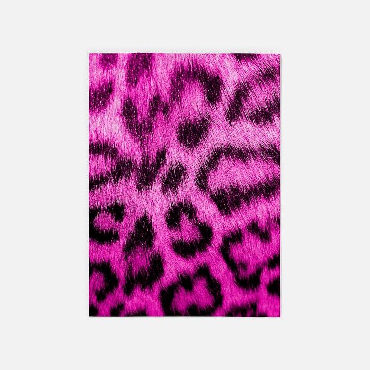 Pink Leopard Rugs, Pink Leopard Area Rugs