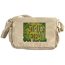 FASTPITCH SOFTBALL Messenger Bag