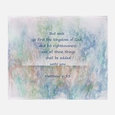 Seek Gods Kingdom Scripture Matthew Inspirational