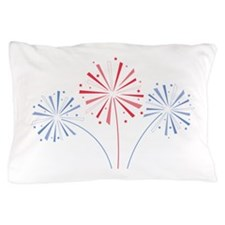 July Fourth Fireworks Pillow Case